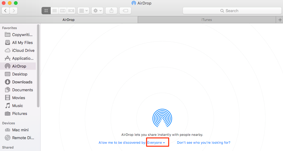 How to Send Videos from iPhone to Laptop via AirDrop - Mac Screen
