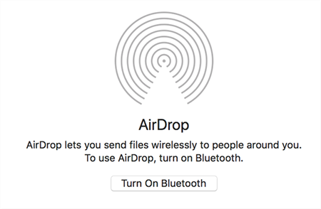 Enable Bluetooth on the Mac