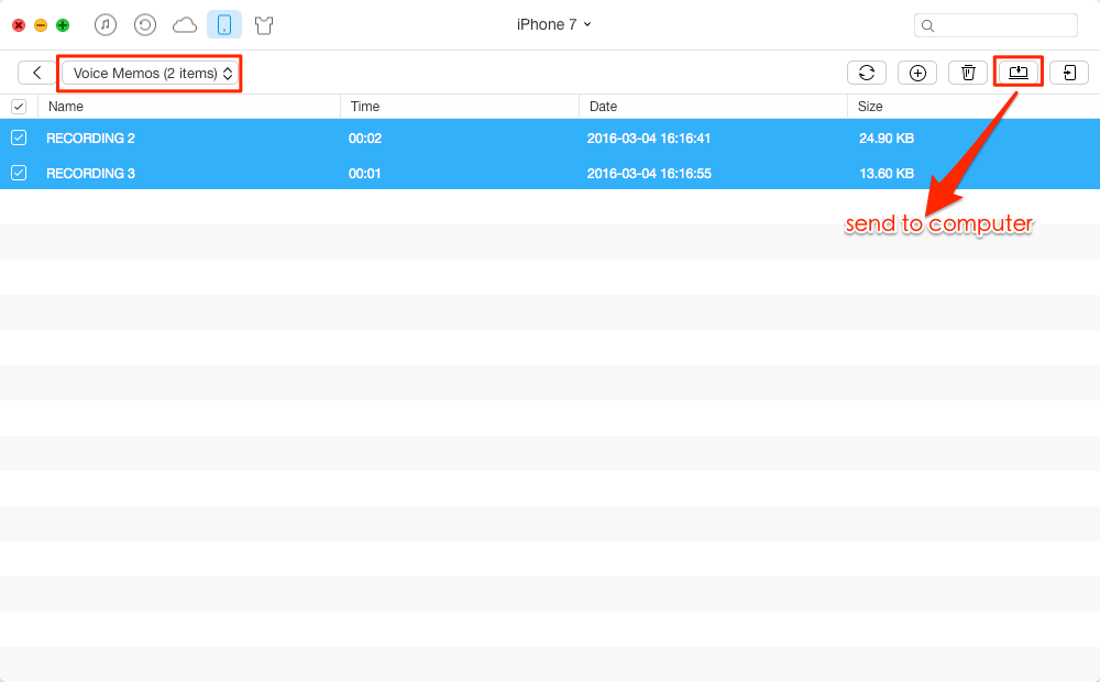 How To Transfer Voice Memos From Iphone To Pc