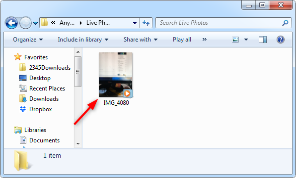 How to Convert Live Photo to Video - Step 4