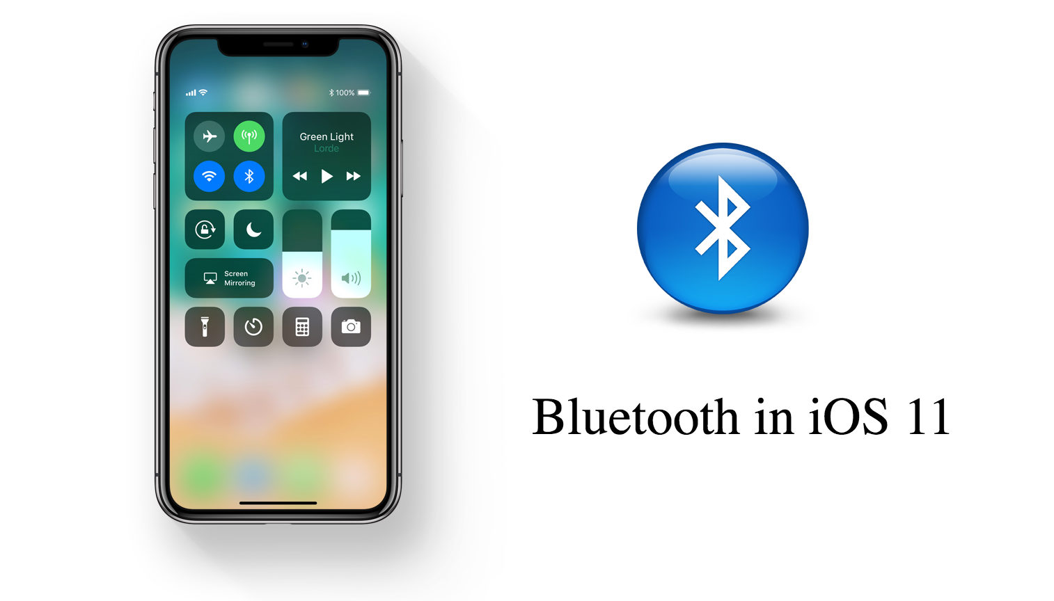 iOS 11 Bluetooth Always On