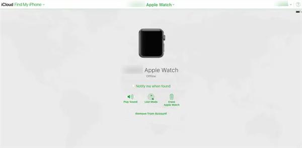 Turn Off Find My Apple Watch on iCloud