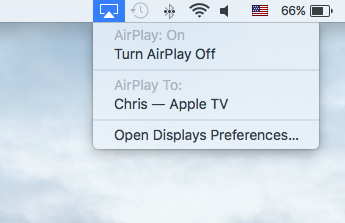 Turn On AirPlay on Mac