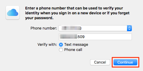 How to Turn on Two-Factor Authentication Mac – Step 4