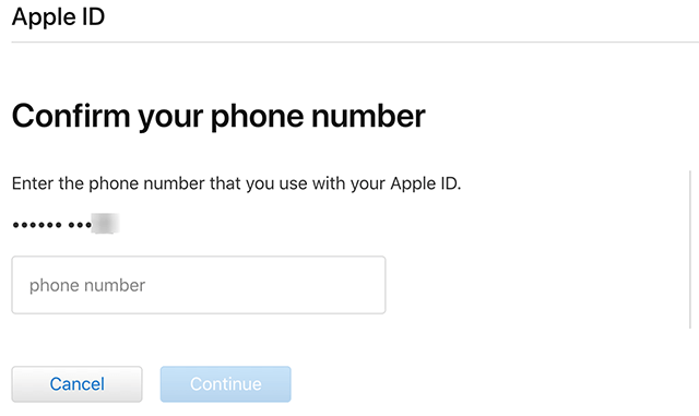Type Your Phone Number