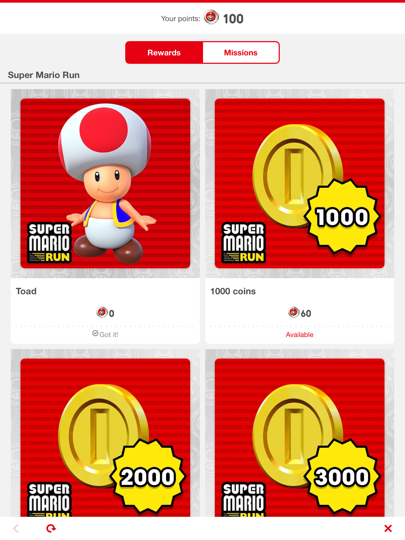 How to Redeem Toad in Super Mario Run