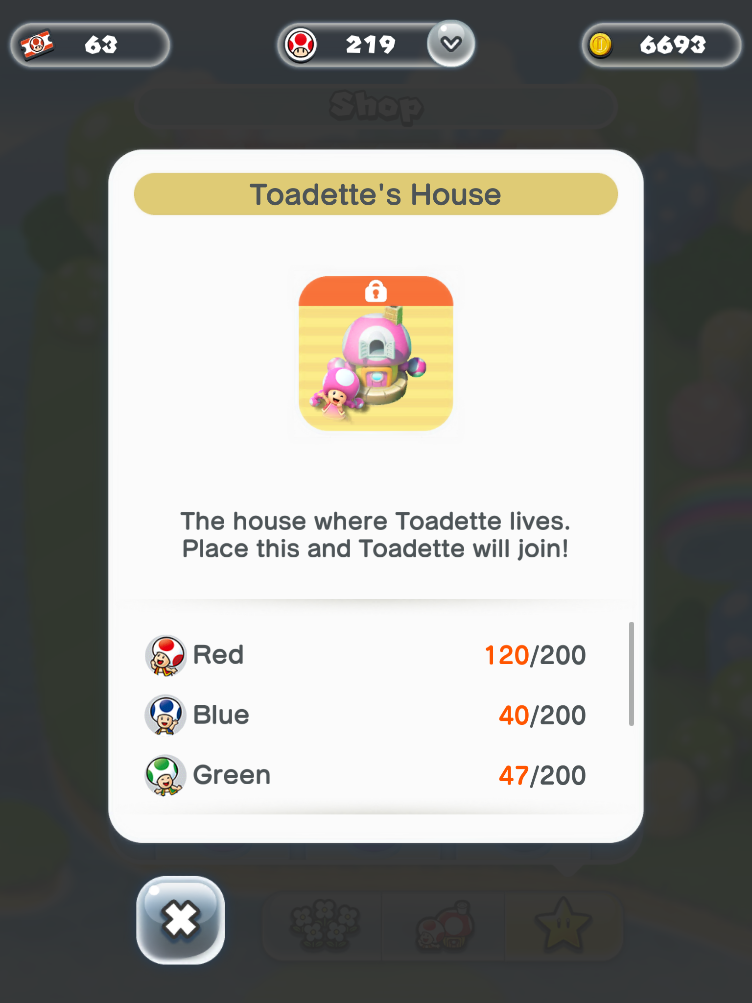 Requirements to Unlock Toadette