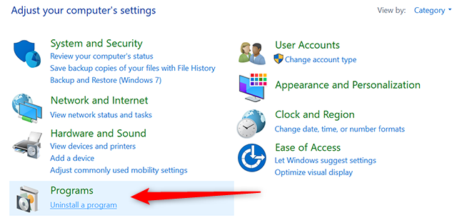 Uninstall Apps on Windows PC