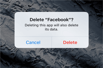Delete FaceBook on Your Device