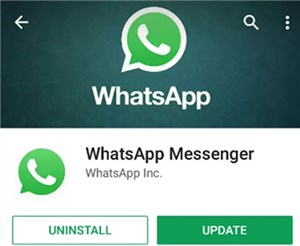 Uninstall WhatsApp on Android