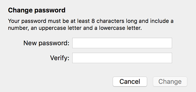Enter a new password for your Apple ID