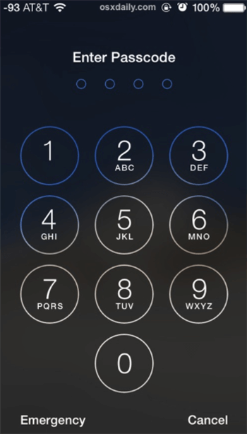 Remove Screen Passcode from iPhone 11