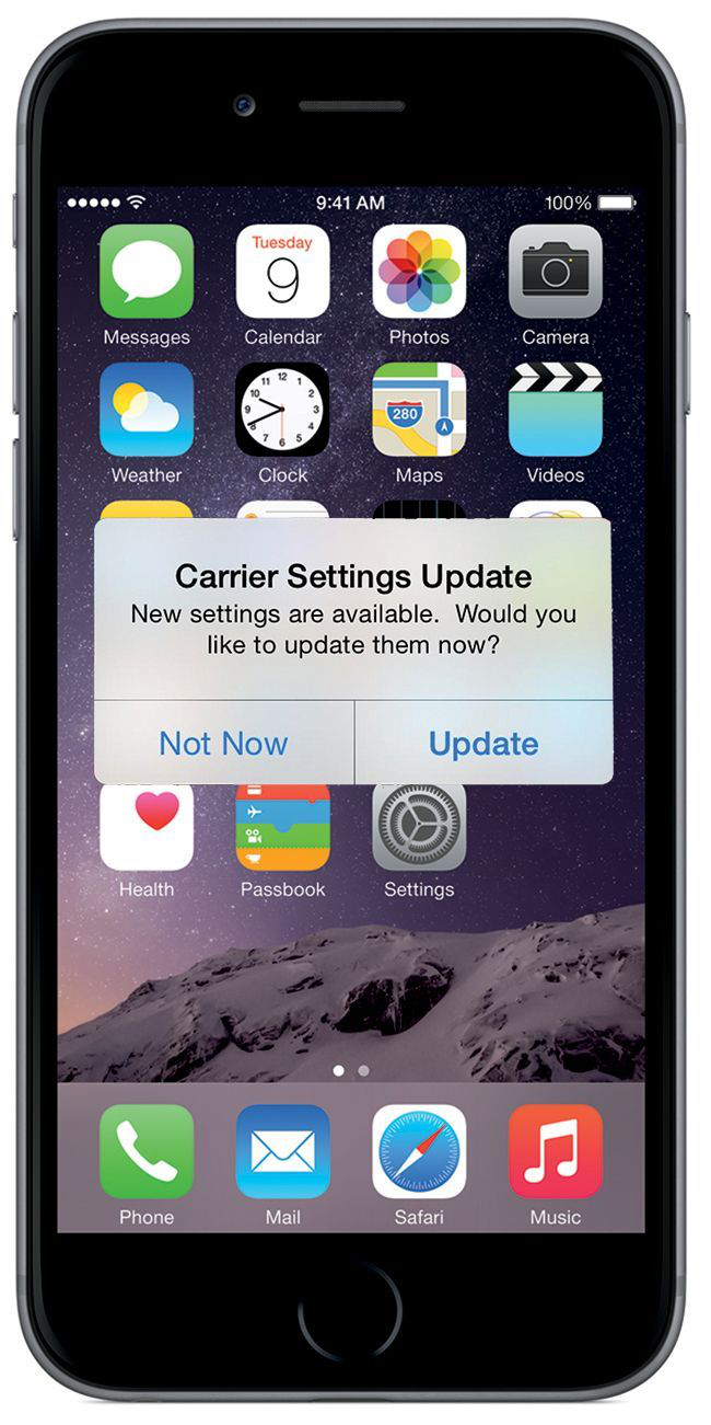 carrier update iphone how to update carrier settings on iphone in ios 10 10340