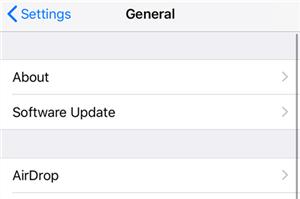 Update iOS on iPhone