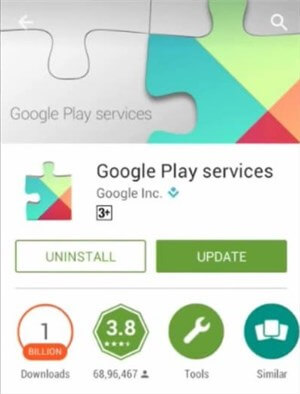 The Google Play Services Update
