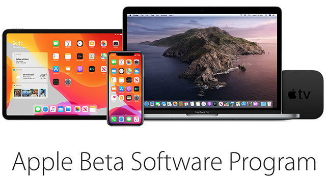 Sign-up for the Apple beta software program