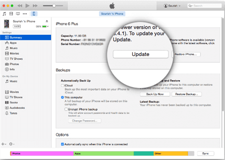 Update to the Latest Version of iTunes