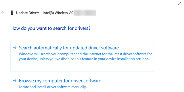 Update WiFi Drivers on a Laptop
