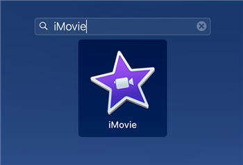 Access the iMovie App on Mac
