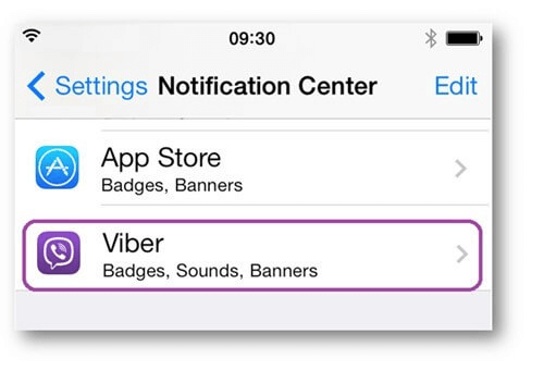 Check Viber Ringing Setting