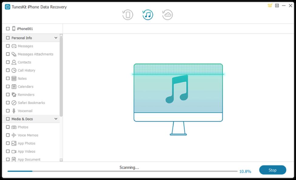 Viber Data Recovery Tool - TunesKit