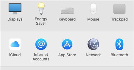 View iCloud Settings On A Mac