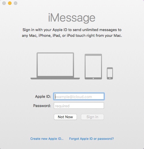 How to View iPhone Messages on Mac - Step 2