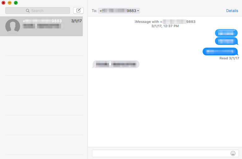 How to View iPhone Messages on Mac - Step 3
