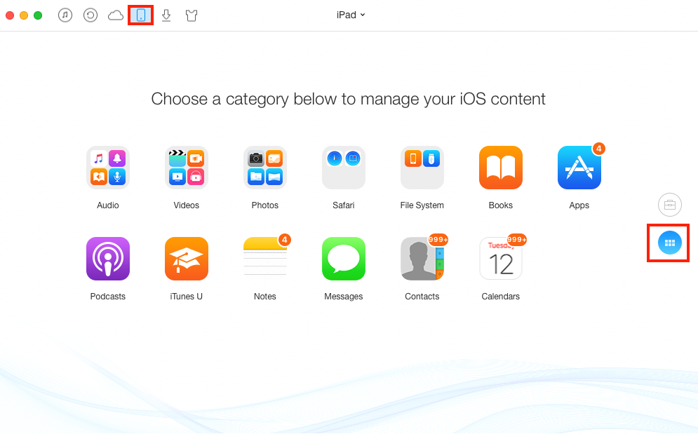 How to Add HD Videos on iPad without iTunes – Step 1