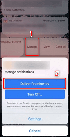 How to Turn Deliver Quietly Off on iPhone 7/8/X/XS(Max)/XR