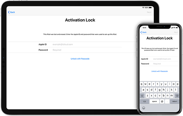 The Answer to What the iCloud Activation Lock is