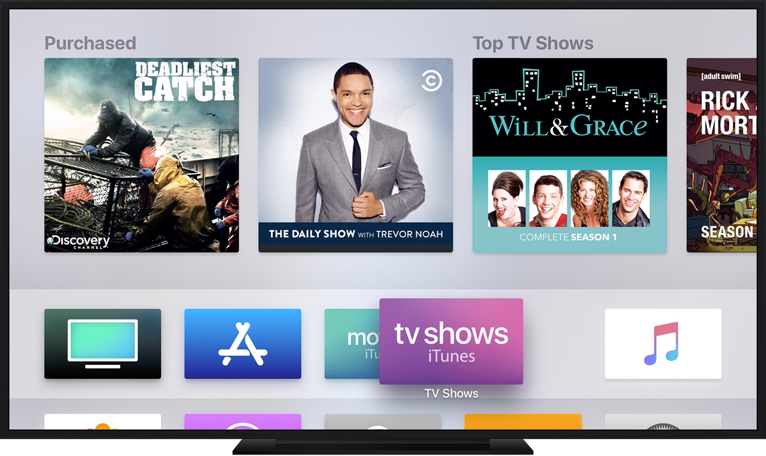 What's New in Apple TV App