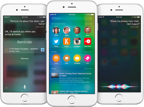 How Does Proactive Work in iOS 9