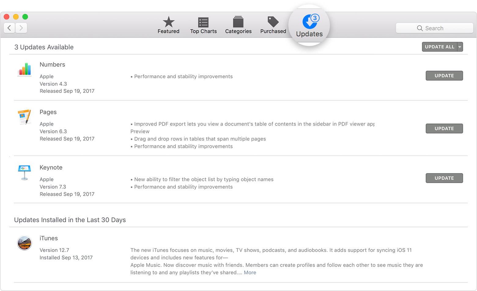 Update iTunes in Earlier macOS