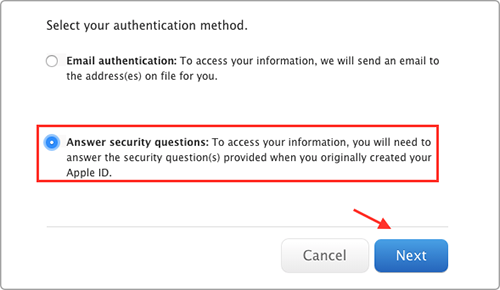 How to Reset Apple ID Password – Method 2