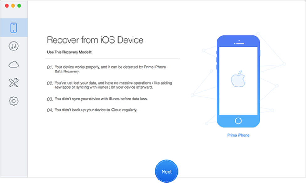 Best WhatsApp Backup Extractor - Primo iPhone Data Recovery