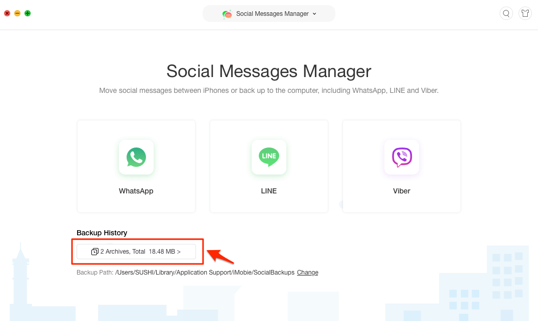 Extract WhatsApp Messages from Backup – Step 2