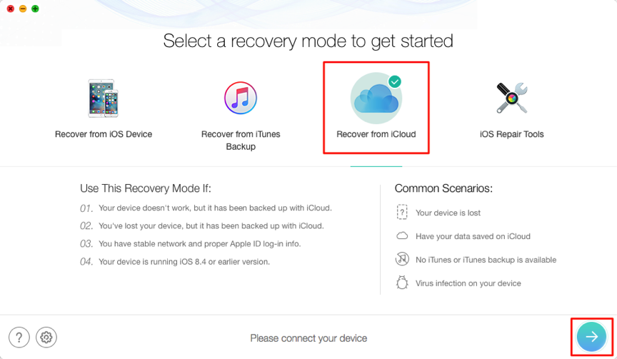 How to Selectively Restore WhatsApp from iCloud – Step 2