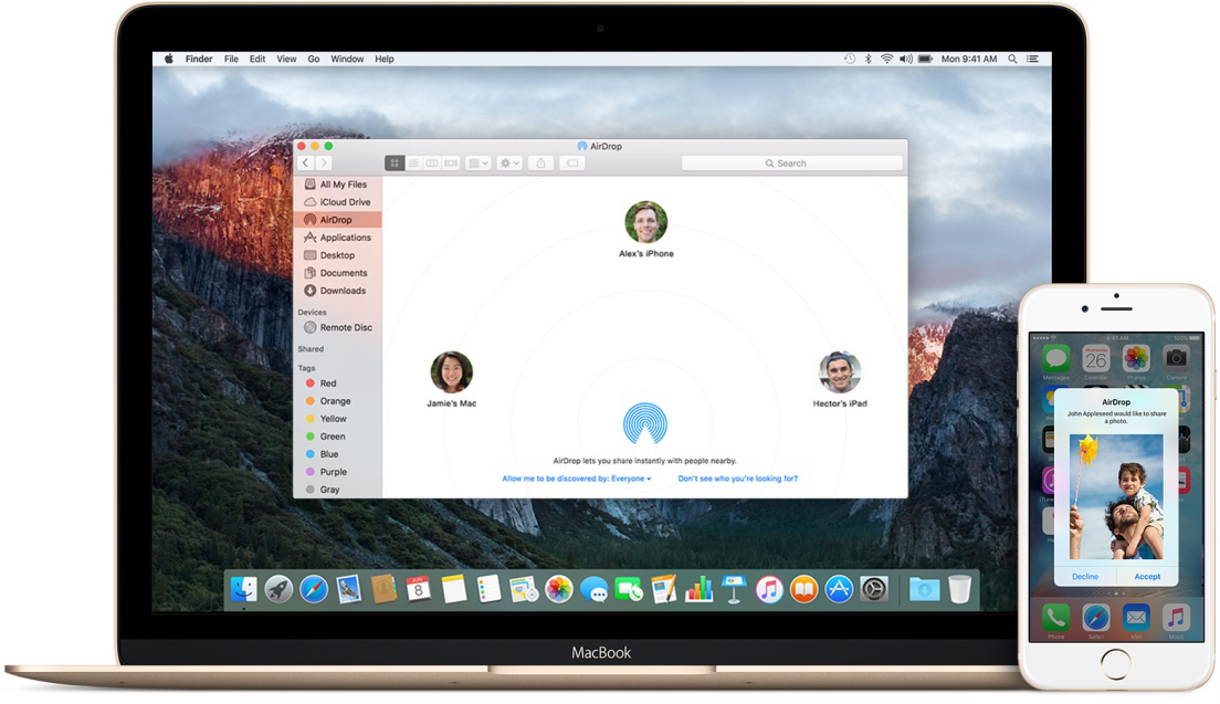 Where Do AirDrop Photos Go on Mac/iPhone