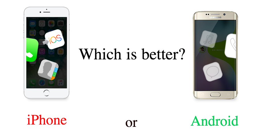 what is better iphone or android 5 grounds to judge which is better iphone or android imobie 19550