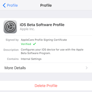 Delete Beta Version