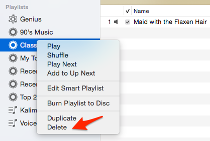 How to Make iTunes Faster – Delete Smart Playlists