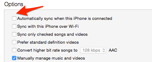 Why is iTunes So Slow – Disable Automatic Syncing