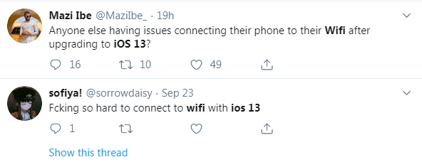 Wi-Fi Connecting Issue