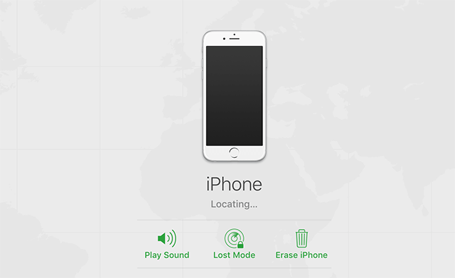 Wipe off Your iPhone or iPad from iCloud