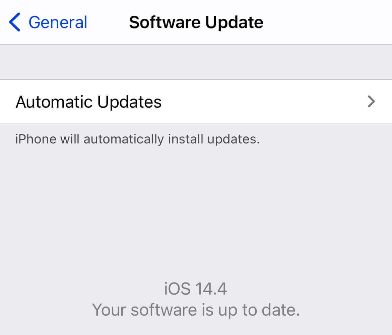 Fix iPhone Quick Start not Working
