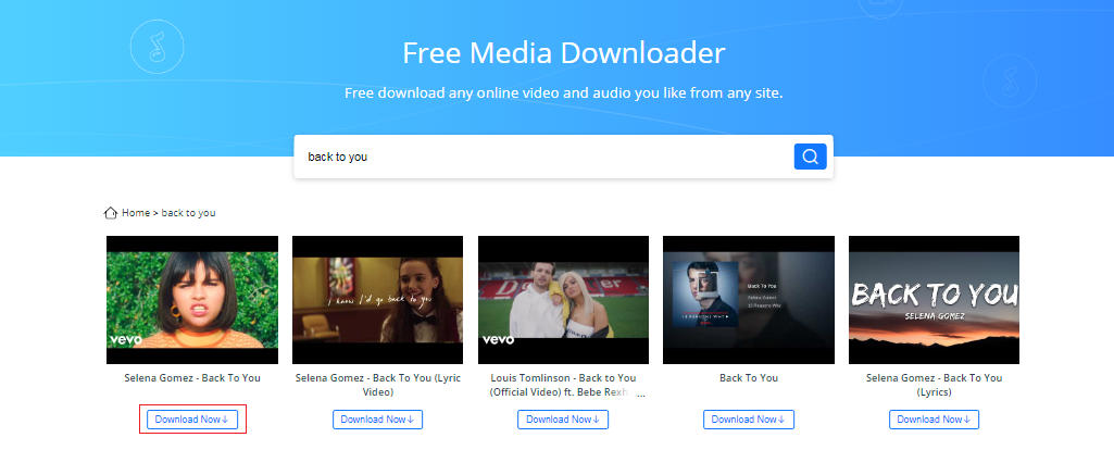 YouTube to Mp3 Converter Fast via AnyGet - Step 2