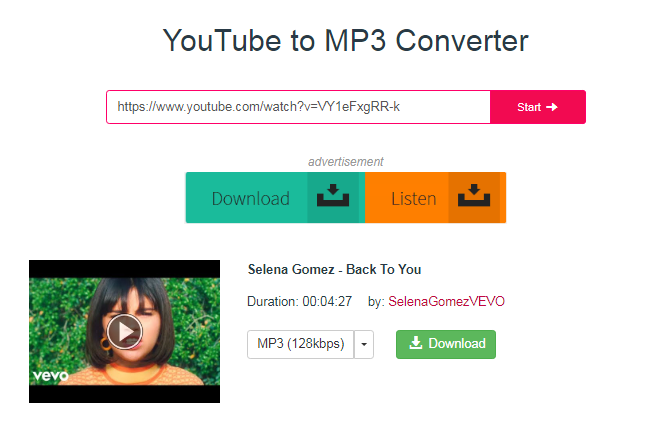 YouTube to Mp3 Converter Fast via Y2Mate