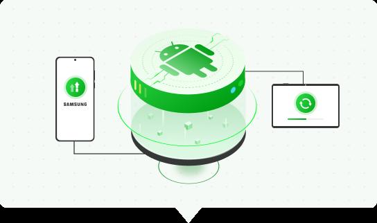 Reinstale / actualice a la versión de Android que desee