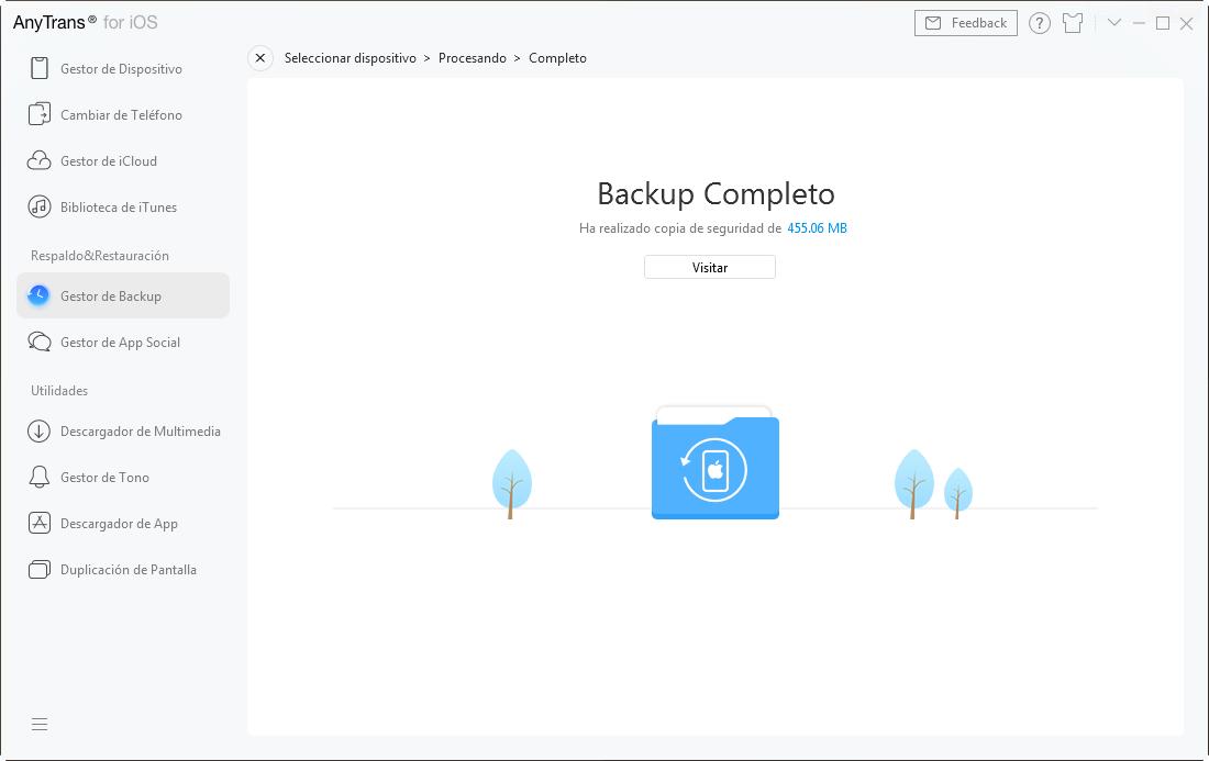 Backup completo - 5